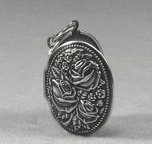 Medaillon silber  Medaillon Schmuck in silber - Amulett und Talisman