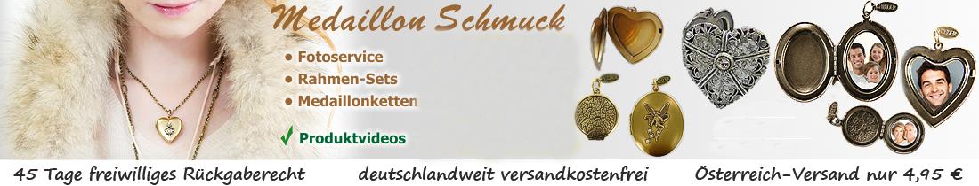 Medaillon-Schmuck